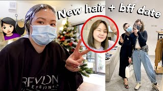 WEEKLY VLOG: NEW HAIR + BFF DATE!   ASHLEY SANDRINE