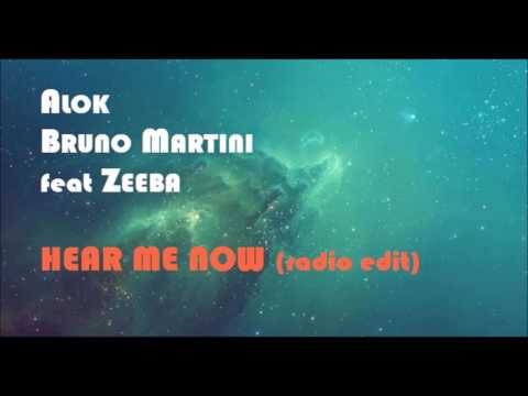 ALOK BRUNO MARTINI feat ZEEBA - HEAR ME NOW radio edit