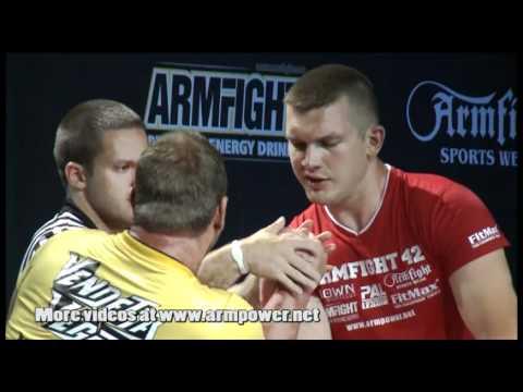 Armfight #42 - Michael Todd vs Sergey Tokarev