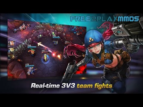 Iron League 3v3 MOBA Gameplay Android / iOS
