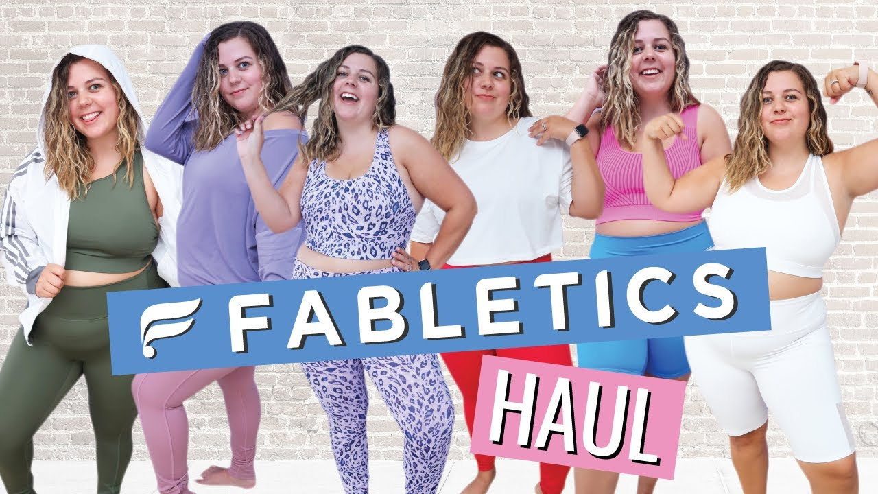 Huge Fabletics Try on Haul!!