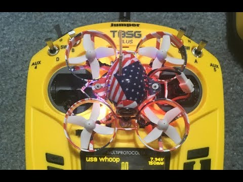 Eachine US65 HOW TO Setup Jumper T8SG UK65 65mm Whoop FPV Racing Drone
