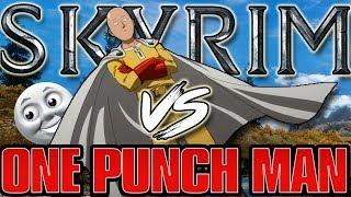Skyrim - ONE PUNCH MAN MOD!