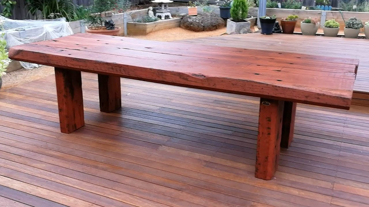 Outdoor Timber Furniture Sleeper