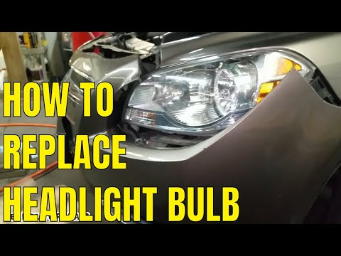 2008-2012 Chevy Malibu Headlight Bulb Replacement FAST AND EASY