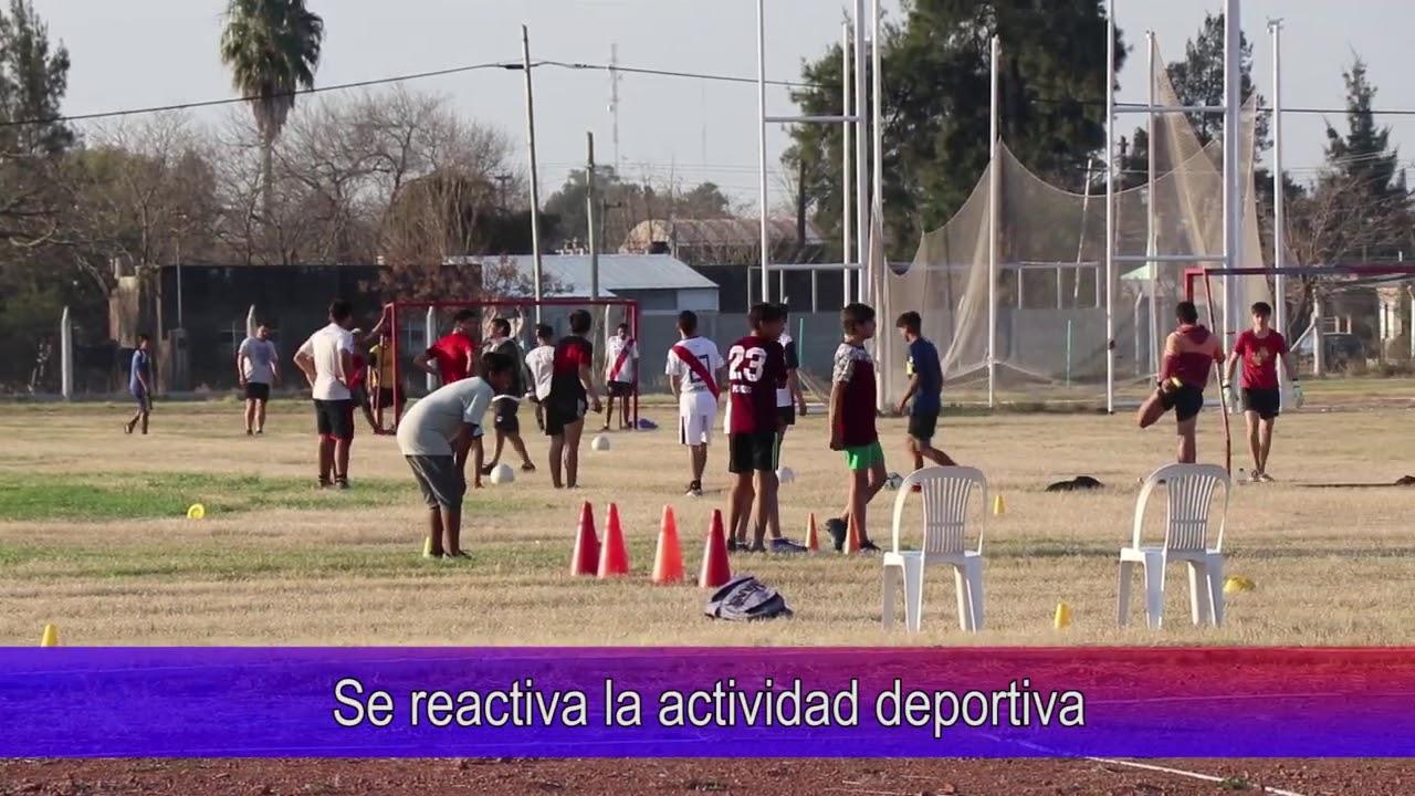 Se reactiva la actividad deportiva