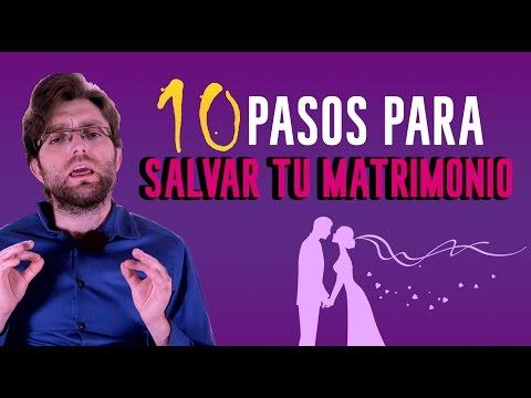10 pasos para salvar tu matrimonio