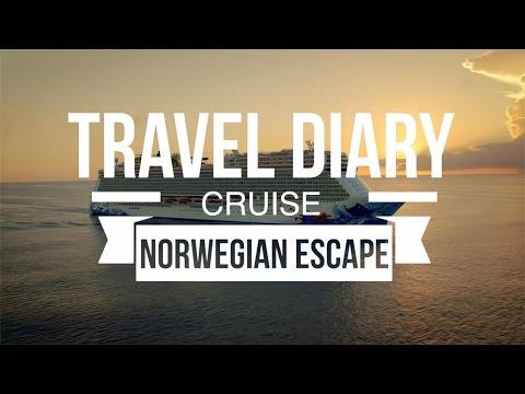 NORWEGIAN ESCAPE CRUISE TRAVEL DIARY!!
