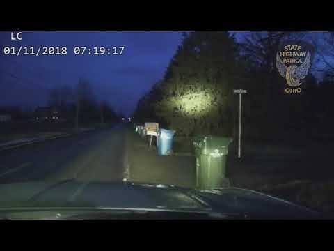Man bites off part of State Highway Patrol trooper's ear in Lorain County.