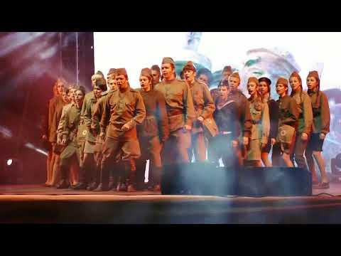 9 мая 2018 театрализованное представление Новороссийск.