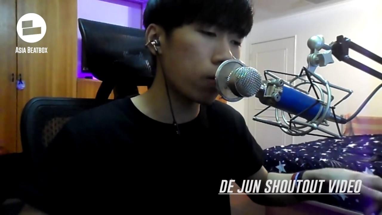 De Jun Shoutout To Asia Beatbox Youtube