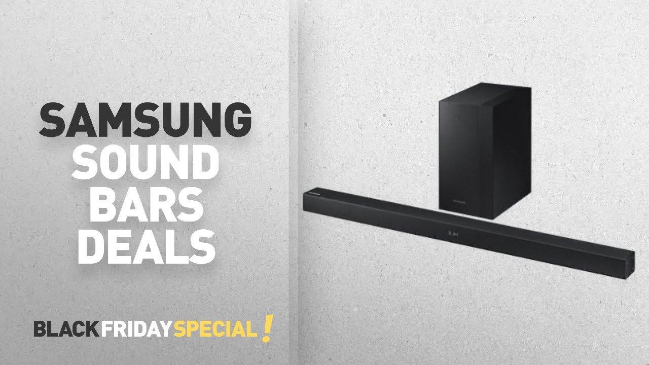 Top Black Friday Samsung Sound Bars Deals 2 1 Channel 200w Soundbar System With