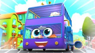 Wheels On The Bus | Kids Rhymes & Nursery Songs | Bus Song | Super Supremes