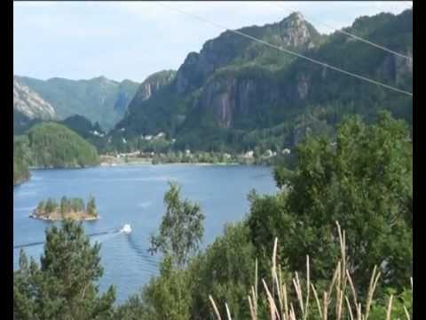 Flekkefjord, nice city in Norway 16.07.2011