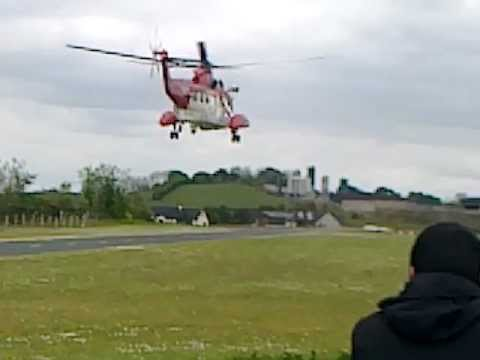 air/sea rescue helicopter carrickmore charity fly-in