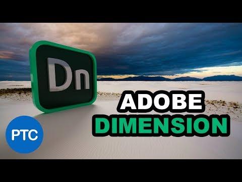 Adobe DIMENSION CC Tutorials - Learn How to Use Adobe Dimension CC - CRASH COURSE