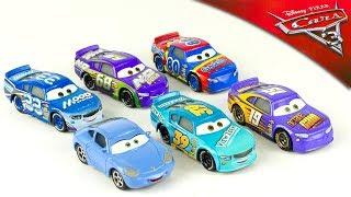 6 Voitures Disney Cars 3 Diecast Sally Bobby Swift Rex Revler Jouet Toy Review Juguetes Octane Gain