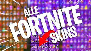 THESE ARE ALL FORTNITE SKINS!! HANDY REBOOT OF TIP! Fortnite Battle Royale