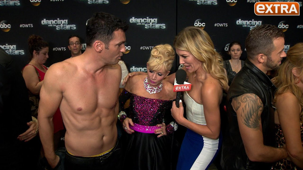 DWTS Week 2 Abs Unleashed Foam Butts Unveiled and