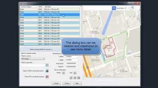 CAD-Earth: Preview position of selected drawing entities in a map (New in V4.1)
