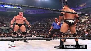 The Rock Vs. Brock Lesner SummerSlam 2002 Highlights HD