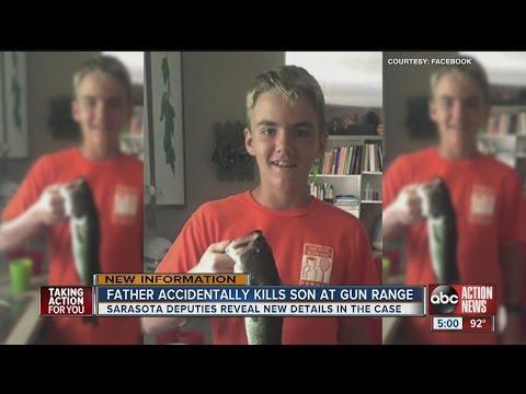 Father accidentally kills son, 14, at Sarasota gun range