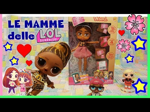 BOXY GIRLS! Arrivano le MAMME DELLE LOL SURPRISE!?! Unboxing toy hunting by Lara e Babou