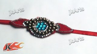 DIY Kundan Rakhi for Raksha Bandhan | How to make |  JK Arts 311