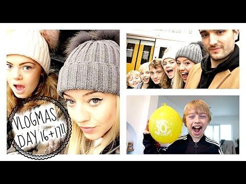 Vlogmas day 16 + 17   WE'VE GOT A BIRTHDAY BOY!!