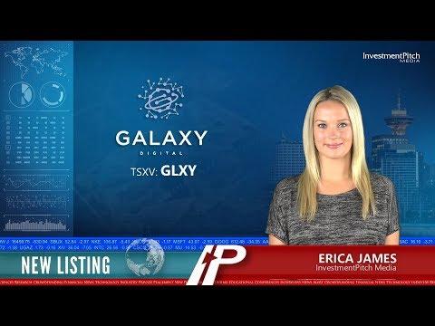 Galaxy Digital Holdings (TSXV:GLXY) New Listing
