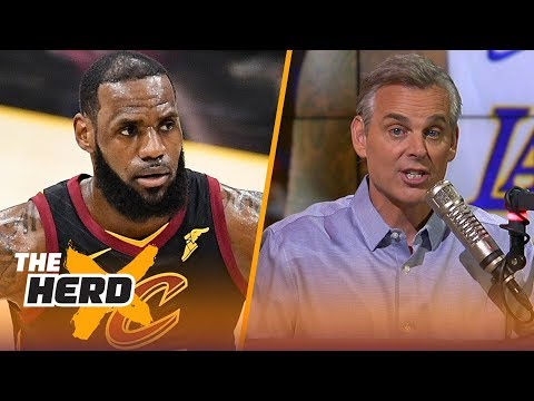 Colin Cowherd on why analytics prove LeBron is better than MJ | NBA | THE HERD