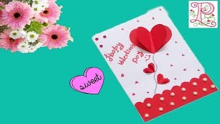 Valentine Day Greeting Card Handmade    Greeting Cards for Valentine