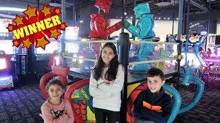 Family Fun Play Area for Kids Arcades Games Children Play Center   HZHtube Kids Fun