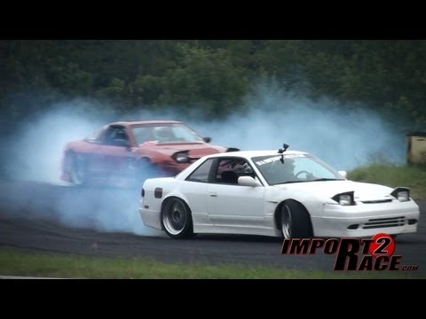 Two Nissan Drifting Battle Who Angle Best Youtube