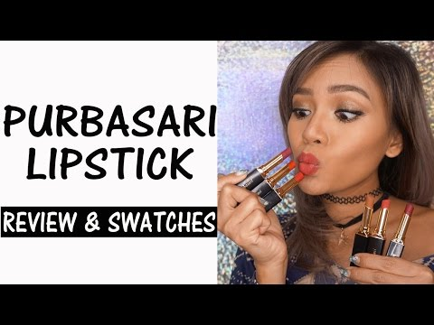 purbasari-lipstick-review-&-swatches