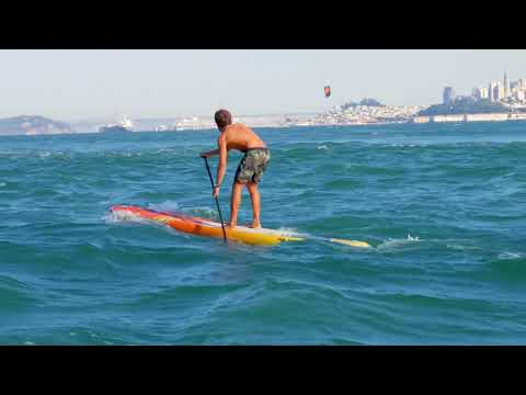 Kai Lenny shows what'SUP in San Francisco. | Red Bull Heavy Water