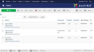 Export Joomla Users and User-Profile fields to Excel or CSV file