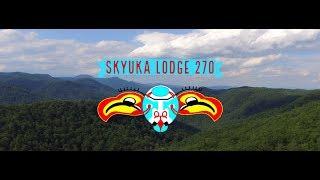 Boy Scout OA 270 Skyuka Lodge Coastal Carolina University 2020 NOAC Flap