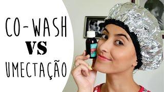 COMPROVANDO A EFICÁCIA DO CO-WASH + Umectação