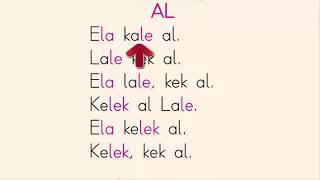 Dik temel harfler elak sesleri okuma metinleri e l a k