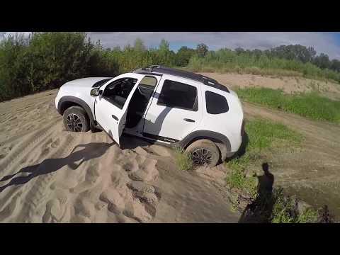 Ураганим Duster Dakar 2.0 в стоке. Выпуск 1. Музыкальный. Грязь и песок лайт.