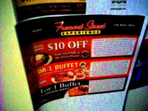 Las vegas experience coupons