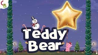 Teddy Bear Teddy Bear - Christmas Song for Kids | Christmas Dance and Music | Cuddle Berries Rhymes