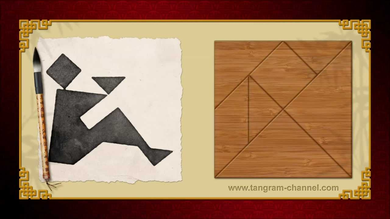 Tangram Offering - Tangram puzzle #22 - Providing teachers and