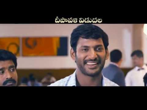 Pooja (Telugu) - TV Promo 9   Vishal, Shruti Haasan   Hari   Yuvan