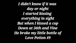Love Potion #9 by The Hit Crew (lyrics)