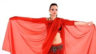 How to Do Veil Lift & Butterfly Move   Belly Dance