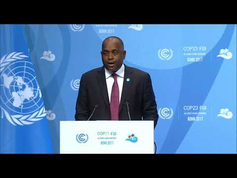 Cop23 His Excellency Mr  Roosevelt Skerrit, Prime Minister of Dominica