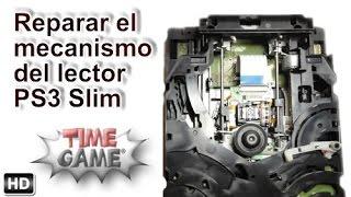 Poder reajustar el mecanismo del lector en PS3 Slim