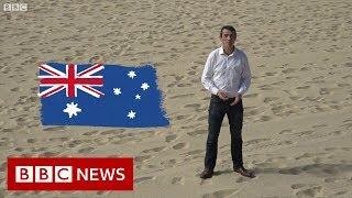 Australia election: Fines, donkey votes and democracy sausages - BBC News